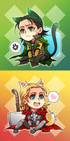 Marvel-Thor and Loki 4