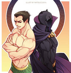Marvel-Namor and Black Panther