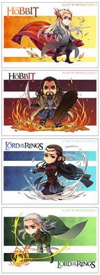 The Hobbit-postcard