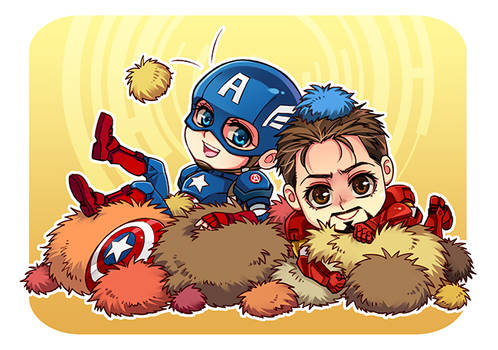 The Avengers-with tribbles