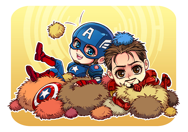 The Avengers-with tribbles by Athew