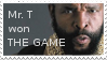 Mr. T won THE GAME: Stamp by X--JAZZIE--STAMPS--X