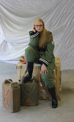 Military Gabbi - Major Work HSC by Kokoachan