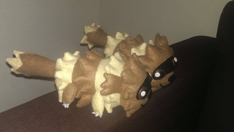 Zigzagoon Plushies by delicioustrifle