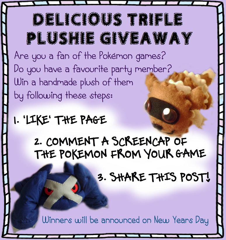 FACEBOOK COMPETITION by delicioustrifle