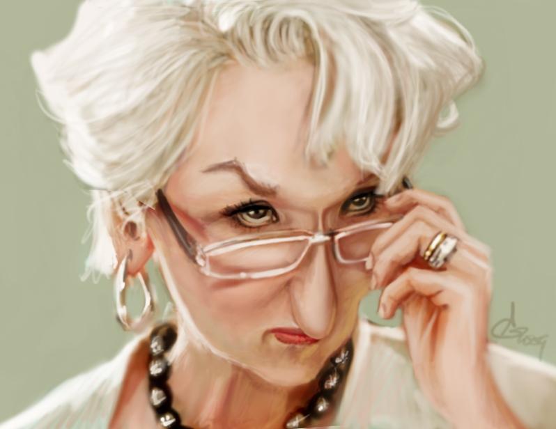 Meryl Streep by AndreaGerstmann
