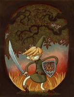 Zelda Fan Art - Link by AndreaGerstmann