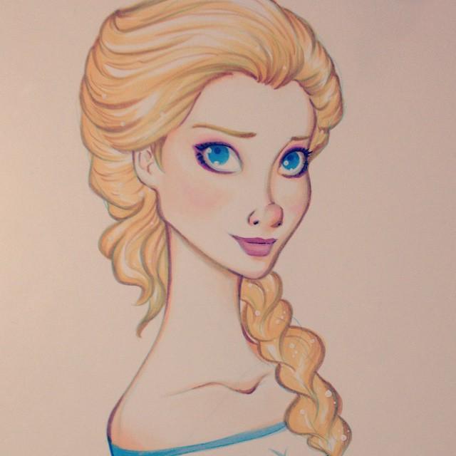 Elsa by DanaisH