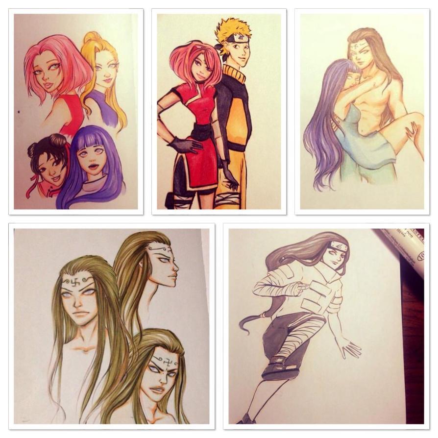 naruto sketchbook images by DanaisH