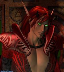 Blood Elf Eyeglow by Niekra