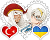 Turkraine OTP Stamp by World-Wide-Shipping