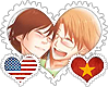 AmeViet OTP Stamp by World-Wide-Shipping