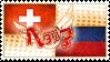 Hetalia SwissLiech Stamp by World-Wide-Shipping