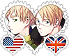 UsUk OTP Stamp by World-Wide-Shipping
