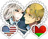 AmeBela OTP Stamp by World-Wide-Shipping