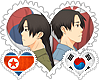 North/South Koreas OTP Stamps by World-Wide-Shipping