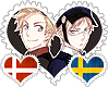 DenSu OTP Stamp by World-Wide-Shipping