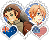 Aussiemerica OTP Stamp by World-Wide-Shipping