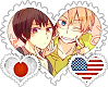 JpnAme OTP Stamp by World-Wide-Shipping