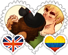 Britlombia OTP Stamp by World-Wide-Shipping