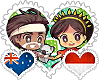 Aussienesia OTP Stamp by World-Wide-Shipping