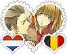NethBel OTP Stamp by World-Wide-Shipping