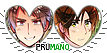 APH Prumano Heart Couple Stamp by World-Wide-Shipping