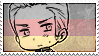 Hetalia Germany - Stamp