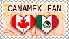 Hetalia CanaMex Fan - Stamp by World-Wide-Shipping