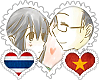ThaiViet OTP Stamp by World-Wide-Shipping