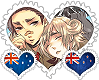 AussieZealand OTP Stamp by World-Wide-Shipping