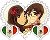 Mexicest OTP Stamp by World-Wide-Shipping
