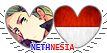 APH Nethnesia Hearts Couple Stamp by World-Wide-Shipping