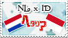 Hetalia NL x ID - Stamp by World-Wide-Shipping
