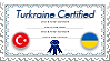 Turkraine Certified - Stamp by World-Wide-Shipping