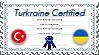 Turkraine Certified - Stamp by World-Wide-Shipping