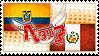 Hetalia Ecuaru Stamp