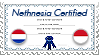 Nethnesia Certified - Stamp by World-Wide-Shipping