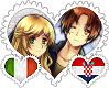 ItaCro OTP Stamp by World-Wide-Shipping