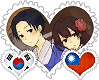 KorTai OTP Stamp by World-Wide-Shipping