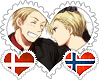 DenNor OTP Stamp by World-Wide-Shipping