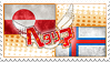 Hetalia GreenFar Stamp by World-Wide-Shipping