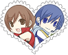 Kaito x Meiko OTP Stamp by World-Wide-Shipping