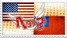 Hetalia AmeTai Stamp by World-Wide-Shipping