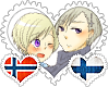 NorFin OTP Stamp by World-Wide-Shipping