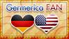 Hetalia Germerica Fan - Stamp by World-Wide-Shipping