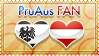 Hetalia PruAus Fan - Stamp by World-Wide-Shipping