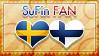 Hetalia SuFin Fan - Stamp by World-Wide-Shipping