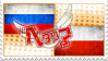 Hetalia RusPol Stamp by World-Wide-Shipping