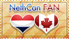 Hetalia NethCan Fan - Stamp by World-Wide-Shipping